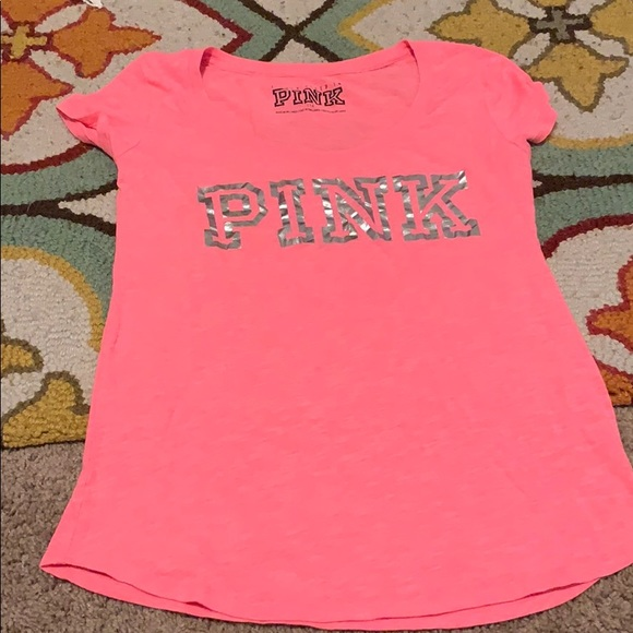 PINK Victoria's Secret Tops - Vs pink tee